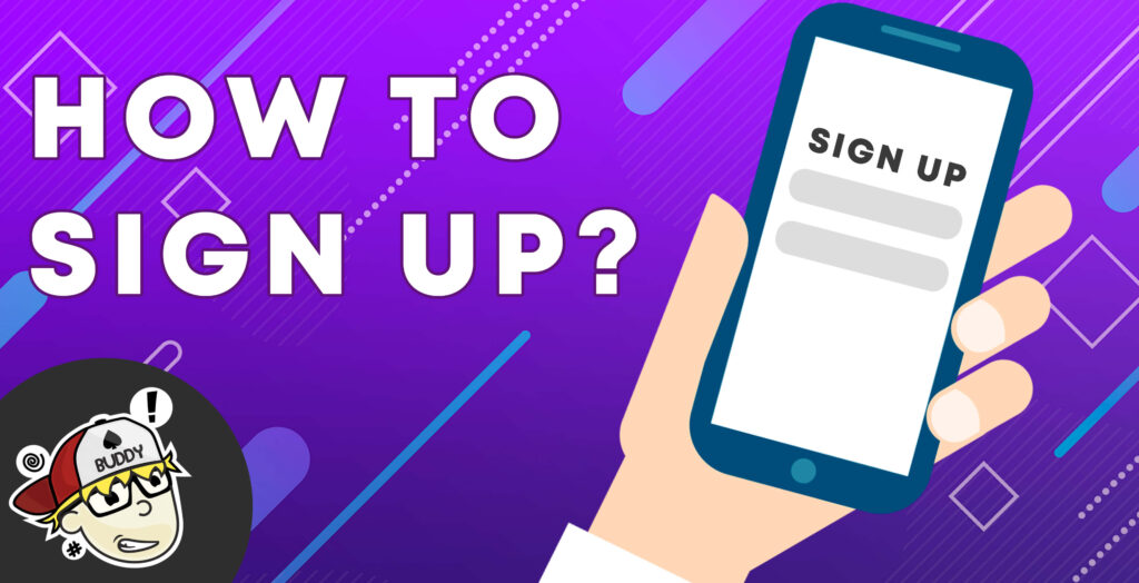 How to sign up | Casino guide