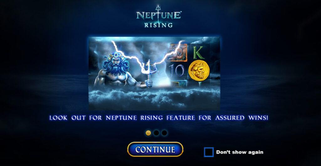 Neptune Rises Slot Features