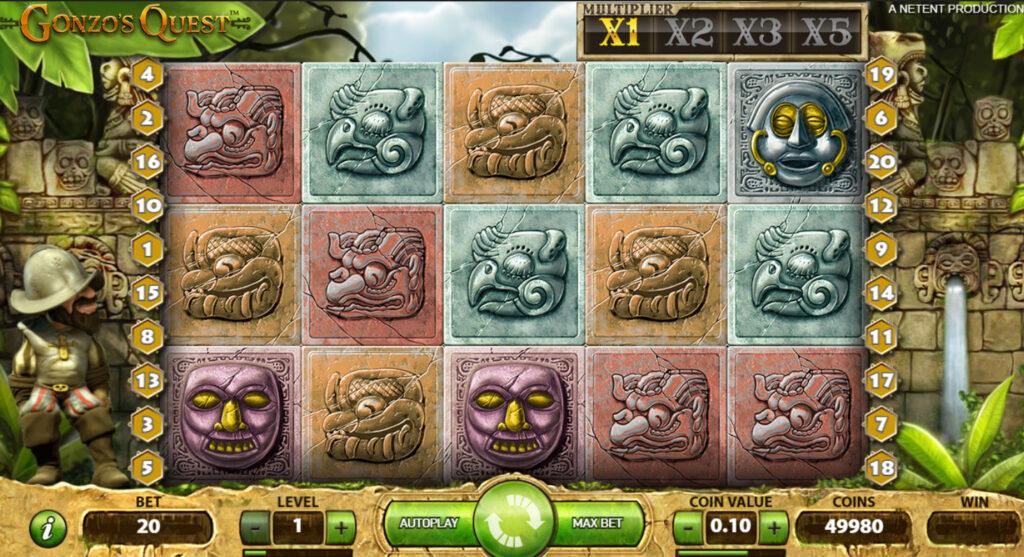 Gonzo's Quest Slot reels