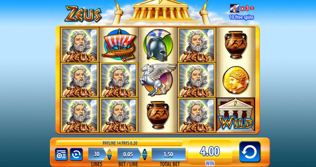 Zeus Slot Reels